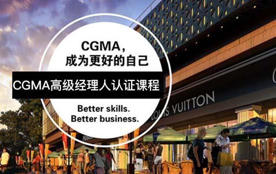 CGMA高级经理人认证课程