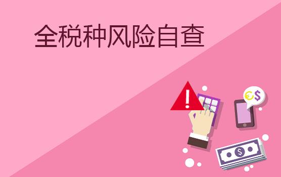 企业全税种风险自查要点解析(上海站)