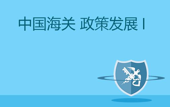 中国海关政策发展趋势分析 I