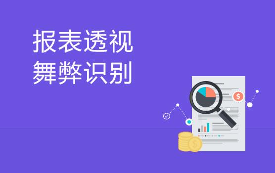 透视财务报表,有效防范舞弊(南京)