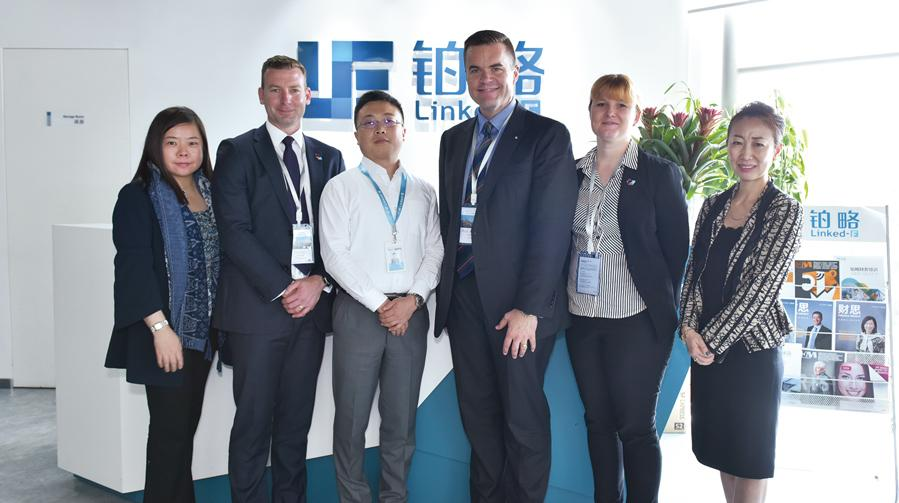 IPA AU代表團蒞臨鉑略上海總部參訪交流