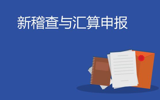 国地税合并后全面税务稽查重点及修订后所得税申报表填报实务