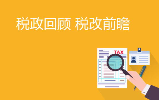 2019年度稅政系統化梳理與稅改前瞻