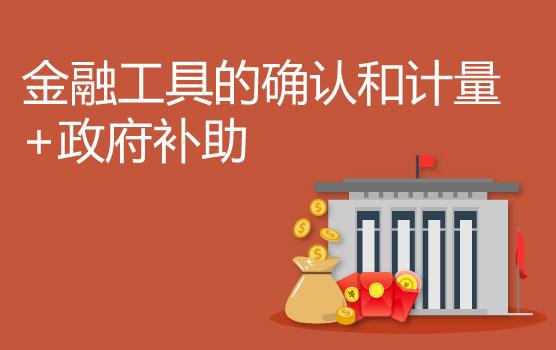 解密新金融工具的确认和计量、新政府补助准则重难点变化(新疆专场)