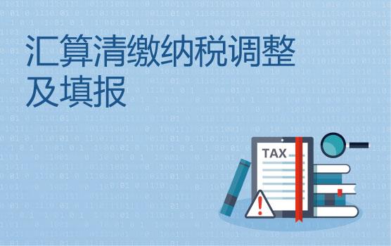 2020年度汇算清缴典型问题及纳税调整填报实务