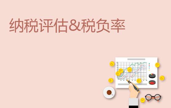 【迷你课】实例教你读懂税务评估中税负率背后的秘密